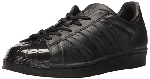 adidas Originals Women's Superstar Glossy Toe W Fashion Sneaker Black/Black/White cheap sale shop offer oX8n4n