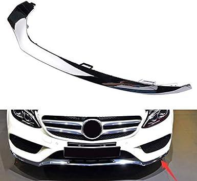Moligh doll Auto Vorne STO?Stange Unterlippe Chrom Verkleidung f/ür Mercedes W205 C300 C350 2058851474