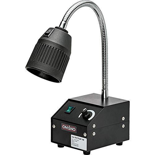 Omano OMHL31 Halogen Gooseneck Desk Lamp Microscopy and Multi-Purpose, 16
