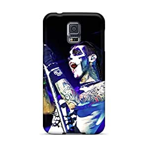 Samsung Galaxy S5 Cca8714NXGG Unique Design Beautiful Black Veil Brides Band BVB Series High Quality Hard Cell-phone Case -AshleySimms
