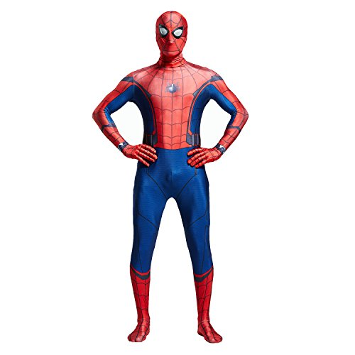 Unisex Lycra Spandex Zentai Halloween Cosplay Costumes for Audlt/Kids:Homecoming