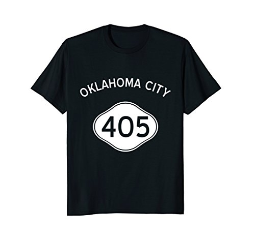 Oklahoma City 405 Area Code Oklahoma City Shirt - Day Oklahoma City Memorial