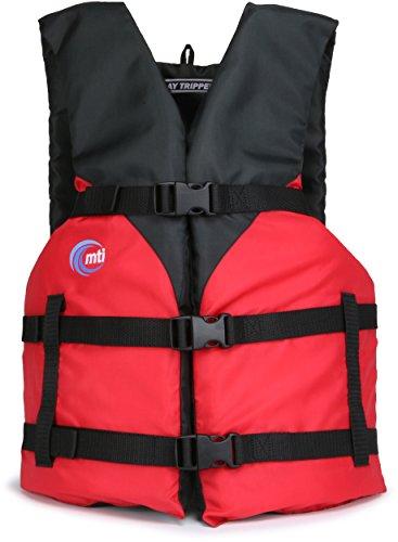 - MTI Day Tripper Life Jacket - Red - Universal (30-52