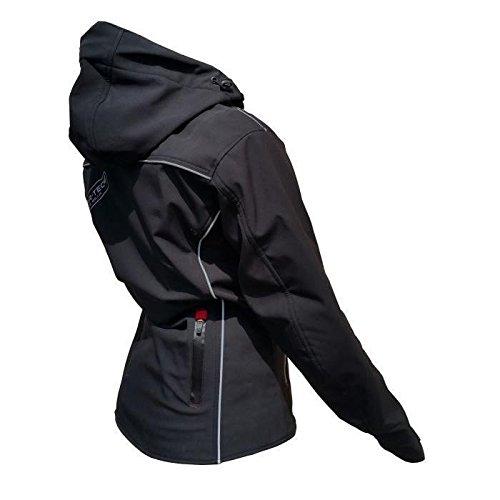 Negro /Chaqueta de motociclismo Cirrusfil Medium y de verano/ RIDER-TEC/ /rt-2780-b talla XL