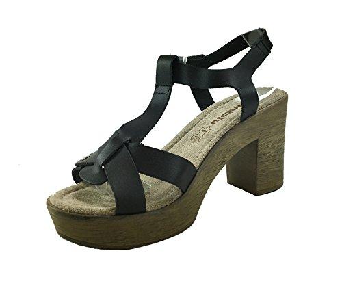 Inblu Sandales pour Inblu Noir Sandales Inblu Femme pour Noir pour Femme Sandales Femme rw4trA