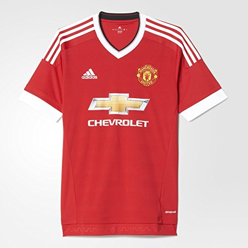 Adidas Manchester United FC Home Jersey-REARED (XS)