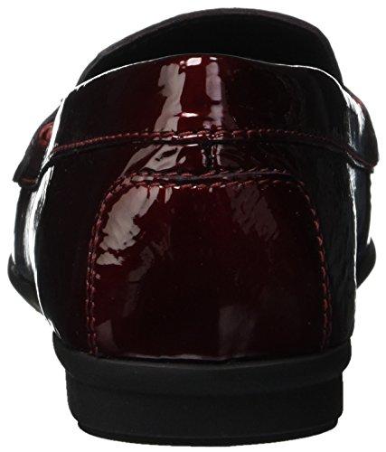 Geox Elidia bordeaux Mocassins D Rouge Femme A C7005 loafers q4rx7fqw