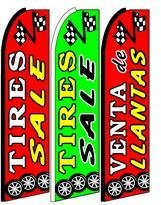 Tire Sale King Size Swooper Flag Sign Pack of 3