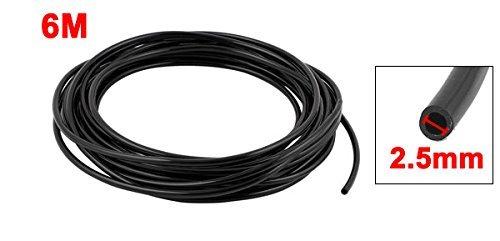 4 x 2, 5 mm neumático del compresor de aire Tubería de TPU manguera 6m Tubo Tubo Negro - - Amazon.com