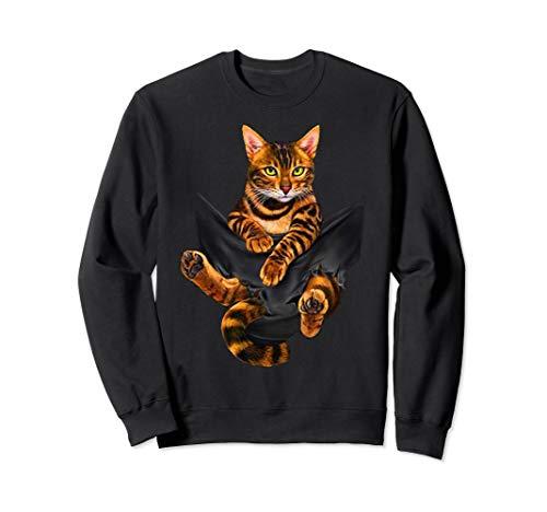 The Golden Bengal Cat 2018 Sweatshirt