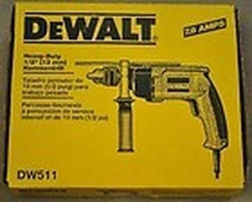 New Dewalt Dw511 1/2 inch Electric Vsr 6.7 Amp Hammer Drill New In Box Sale Price