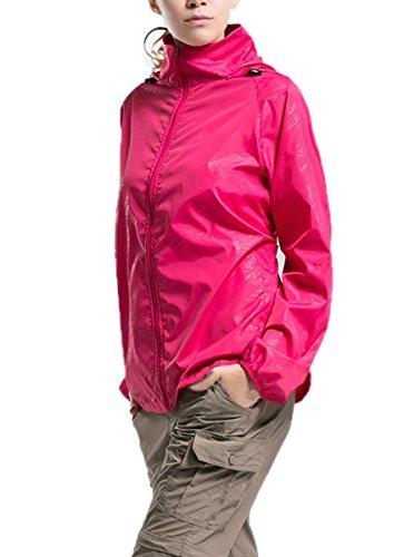 lanbaosi-womens-lightweight-jacket-uv-protect-quick-dry-windproof-skin-coat-rose-red-size-xs