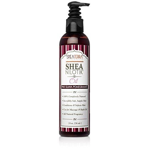 Shea Terra Organics Shea Nilotik' Oil Scented With Pink Gu