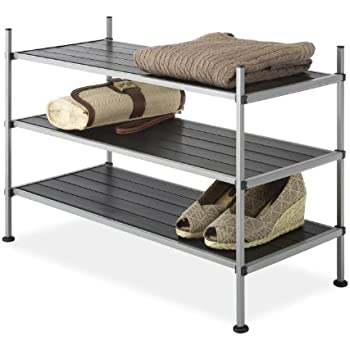 Whitmor 3-Tier Closet Storage Shelves