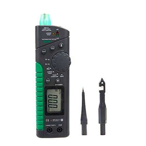 - Gtest DY2203 Digital Automotive Circuit Tester Multifunction Automotive Tester Multimeter Logic Level Test Car Circuit Breaker Finder