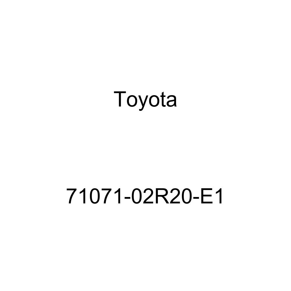 TOYOTA Genuine 71071-02R20-E1 Seat Cushion Cover