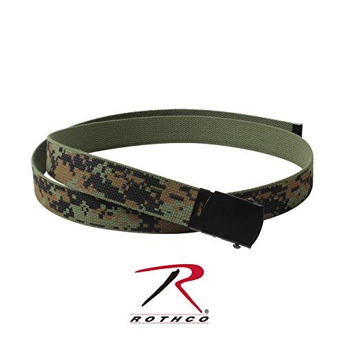 - Rothco Reversible Web Belt, W. Digital/Olive Drab, 54''