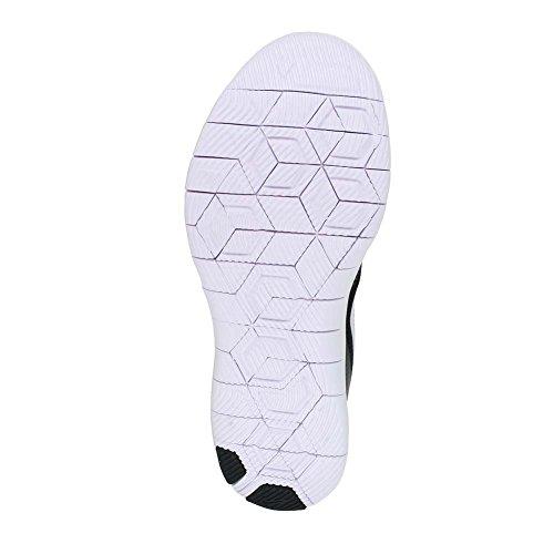 Chaussure De Course À Pied Flex Contact Nike Femme Noir Blanc Anthracite