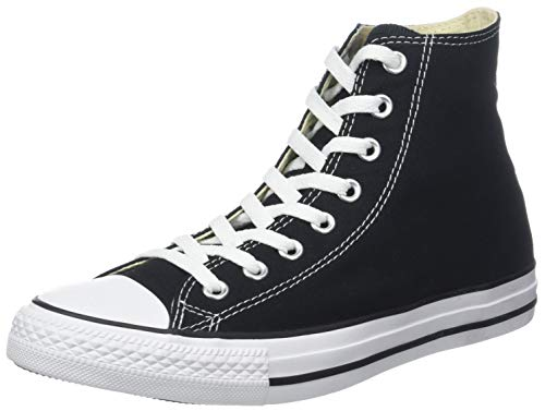 Sneaker Canvas Star Black Converse Unisex Hi Adulto UqtUREx