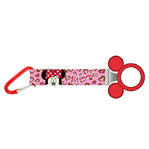 Disney Minnie Lanyard Bottle Holder Key Ring