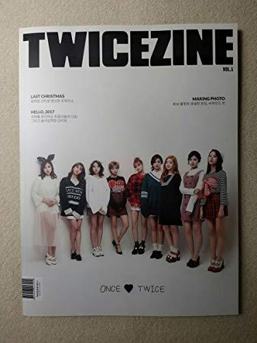 韓国 アイドルTWICEトゥワイスTWICEZINEVol1韓国版   B07Q7TVBT9