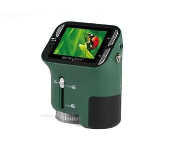 Easypix DigiScope - Microscopio digital (1,3 megapíxeles, 4x zoom digital, pantalla de 6,1 cm)