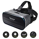 HAMSWAN VR Headset, Virtual Reality Headset, VR Glasses, VR Goggles-for 3D VR Movies Video Games with 100 Degree FOV for iPhone X 8 7 6 plus, Samsung S6 S7 S8/Plus/Edge Note 8 [2019 Edition]