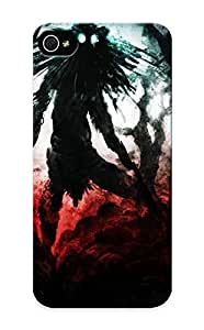 Iphone 5/5s Case Slim [ultra Fit] Mothman Protective Case Cover(best Gift Choice For Friends)