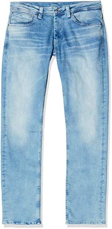 Pepe Jeans Męskie Cash Straight Jeans: Odzież