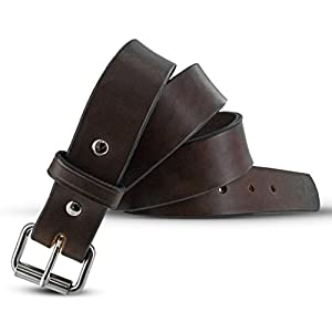 "Hanks AMA2495 Gunner Belt -1.5"" - Brown - 40"