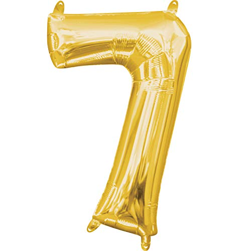 7 inch number balloons - 2