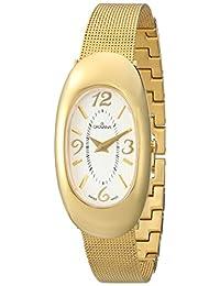 Grovana Women's 4416-1112 Ladies Dress line Analog Display Swiss Quartz Gold Watch