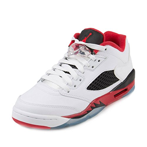 Jordan Nike Kids Air 5 Retro Low (GS) Basketball Shoe