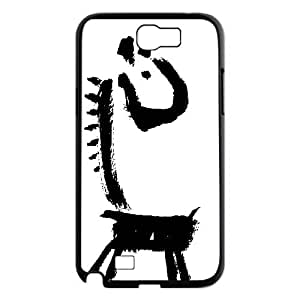 Cute animal giraffe Case Cover Best For Samsung Galaxy Note 2 Case FKLB-T527055