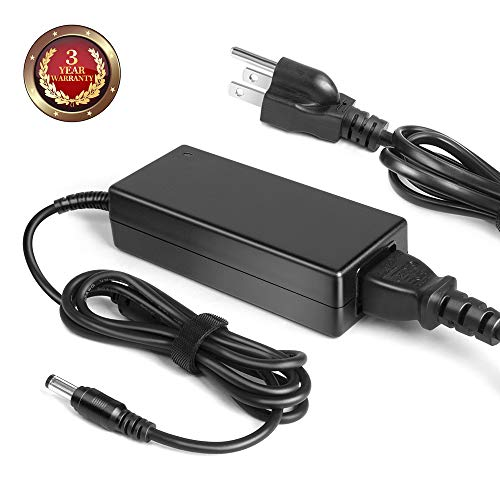 """TAIFU 12V AC Adapter Charger for Insignia 19"""" 20"""" 24"""" 28"""" 32"""" LED HDTV HD TV DVD NS-19E310A13 NS19E310NA15 NS-19E310NA15 NS-20ED310NA15 NS-24D510NA15 NS-24E200NA14 Power Supply Charger Cord"""
