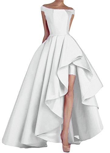 White Formal Gown - 2