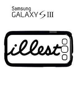 illest Dope Dork Fresh Mobile Cell Phone Case Samsung Galaxy S3 Black