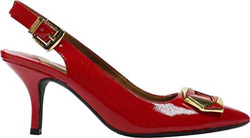 J.renee Womens Lloret Pump True Red