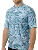 Aqua Design Men Comfort Fit Rash Guard Surf Swim Sun Protection