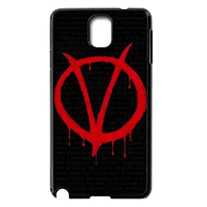 C-EUR Customized Print V for Vendetta Hard Skin Case Compatible For Samsung Galaxy Note 3 N9000