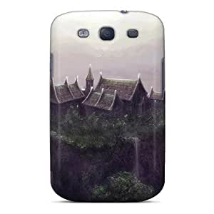 Fashion VijwWKY3033MqKLX Case Cover For Galaxy S3(house Wudang Mountain China Art) by mcsharks