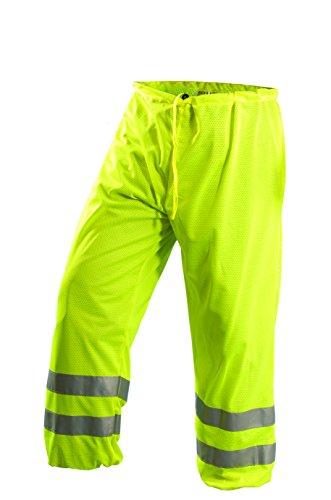 (OccuNomix LUX-TEM-YL/XL Class E Premium Mesh Pant, Large/X-Large, Yellow)