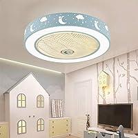 MYXMY Ventilador Ventilador de techo Moderno creativo con control ...