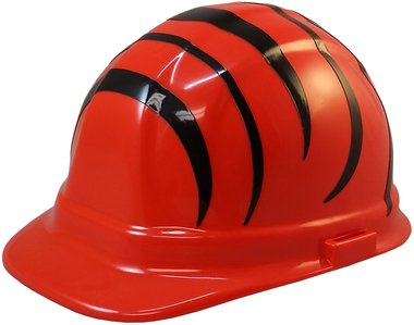 Cincinnati Bengals Hard Hats, ERB Style with Standard Suspension