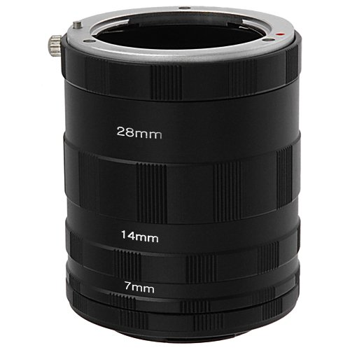 Fotodiox Macro Extension Tube Set for Extreme Close-up for Micro Four Thirds Cameras - Olympus Extension Tube