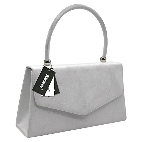 Clutch Handbag Wedding Purse Prom 1 Bag Women Crossbody Suede Bridal White Evening Shoulder Ladies Bag Handbag Envelope Party Wocharm xnCHqSwIFC