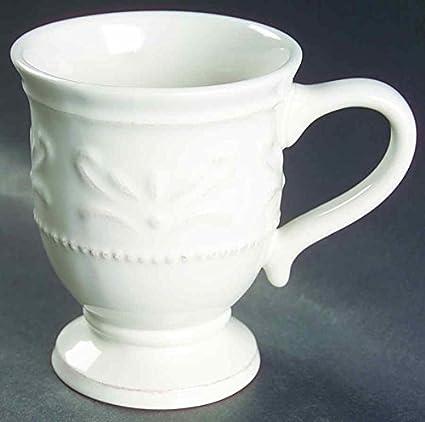 Amazon.com | Chris Madden Ivory Coffee Mug/Cup: Dinnerware Sets