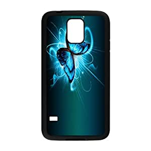 Blue Butterfly for SamSung Galaxy Note 3 N9000 Case AB100152