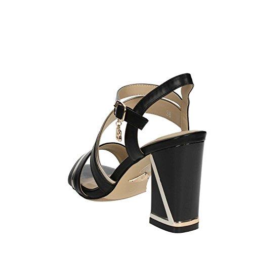 Laura Biagiotti 645_Calf Sandals Women Black vaqMY9el