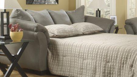 Ashley 7500536 Darcy Cobblestone Full Sofa